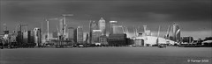 London Landscape (dave turner1) Tags: blackandwhite london mono canarywharf daveturner daveturner1