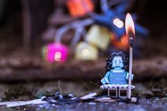 La petite marchande d'allumettes (Sogo photographies) Tags: macro colors couleurs legos minifigs contes macrophotographie minifigurines lgos
