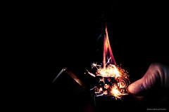 A little spark of magic (Robert Michael Parker) Tags: blue light red orange black start canon fire key fireworks finger smoke magic low fast flame burn strike thumb lighter tamron magical spark flint f28 hold fuel zippo 6d flamable 2470 ignight
