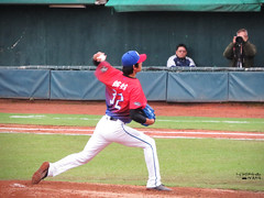 IMG_4073_副本 (vivian_10202) Tags: baseball taoyuan cpbl lamigo 王溢正