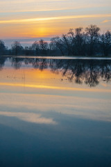 (philippe baumgart) Tags: morning sunrise landscape dawn alsace paysage floods matin ried inondations muttersholtz