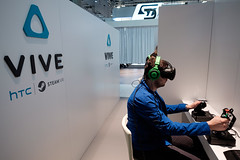 HTC Vive VR - Mobile World Congress 2016 (Janitors) Tags: vive gaming virtualreality gamer vr htc mwc mobileworldcongress mobileworldcongress2016 mwc16 htcvivevr mobileworldcongress16