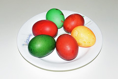 Easter Eggs (chooyutshing) Tags: food colouring hardboiled eastereggs