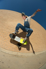 TB wallride (memoryhousemag) Tags: arizona skateboarding fisheye sonyalpha tannerballengee memoryhousemag