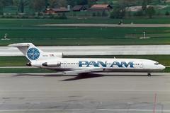 "Pan American World Airways - Pan Am Boeing 727-235 N4734 ""Clipper Charmer"" (Kambui) Tags: airplane airplanes boeing zrich panam aviones avions kloten zrh flugzeuge  avies boeing727 aeroplani kambui  panamericanworldairwayspanam"