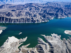 Moving to Las Vegas? Time to Have Fun (tippetts_jeremy) Tags: park arizona usa lake southwest color water landscape outdoors desert image unitedstatesofamerica nobody aerial reservoir photograph lakemead manmade manmadelake lakemeadnationalrecreationarea aboveview naturalresource
