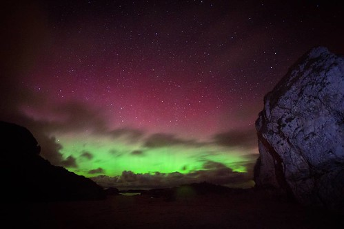 #Ireland #northernireland #antrimcoast #northcoast #aurora