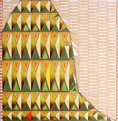 diagram (cortese.federico) Tags: art geometric painting paper wire artwork geometry embroidery decorative web decoration structure cobweb diagram repetition math oilonpaper