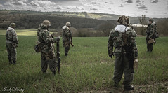 Waiting for the train (Andy Darby) Tags: helmet german medic sani arley paratrooper k98 fallschirmjager fjr5
