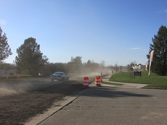 Looking west (creed_400) Tags: road west spring construction belmont michigan april