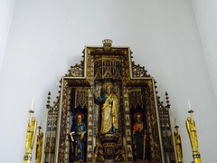Reredos (moley75) Tags: london church ealing 1934 westlondon hanwell reredos stthomastheapostle edwardmaufe altarpeice