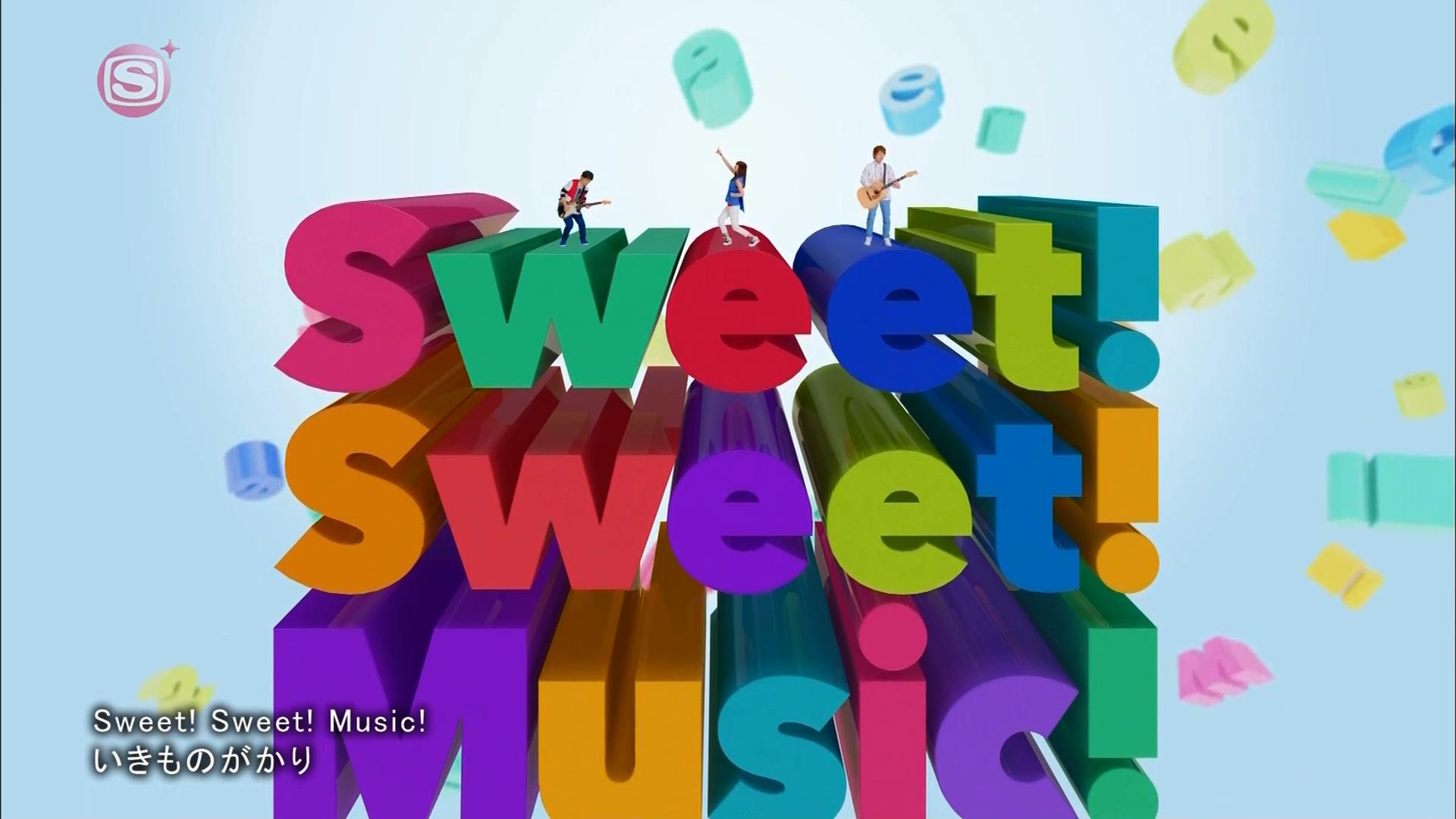2016.03.16 いきものがかり - Sweet! Sweet! Music!(SSTVPlus).ts_20160316_225136.449