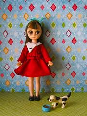 Susie Sad Eyes (Retro Mama69) Tags: vintage big eyes doll sad 8 hong kong pre susie blythe 1960