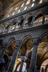 Hagia Sofia (kayerikssen) Tags: old history church 35mm istanbul mosque hagiasofia