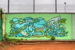 Kee (Coloured City Vienna) Tags: vienna wien wall graffiti austria sterreich wand tennis kee tennisplatz