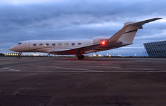 G650 LX-GVI @ Stansted 19/04/16 (aledy66) Tags: egss g650