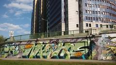 180m (.voyageur.) Tags: vienna wien graffiti austria weird sterreich lord nychos