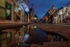 Huge Beers (karinavera) Tags: street city travel people urban reflection beer night neworleans nola bourbon exploration nikond5300