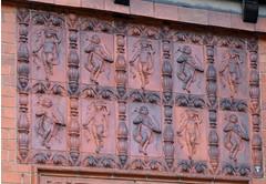 Wightwick Manor, Terracotta Plaque (Mike_J_G) Tags: plaque terracotta artsandcrafts wightwickmanor