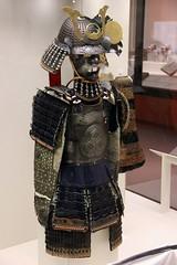 Samurai Armour and Helmet, British Museum (Sharaz Jek) Tags: japan helmet samurai britishmuseum armour breastplate