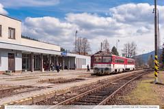 813.004-3 | Os4008 | tra 128 | Turzovka | Slovensko (jirka.zapalka) Tags: train spring os slovensko slovakia stanice turzovka tratsk128 rada813913