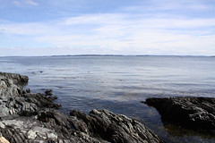 Islesboro, Maine (Erica Robyn) Tags: ocean new england beach nature maine coastal ledges islesboro islesboromaine