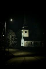 Degerbyn kirkko - Church of Degerby, March 21st 2016. #degerby #kirkko #church #nightshot #nightshots #canonkuvaa #canonkevät #canoneos6d (Sampsa Kettunen) Tags: church nightshot nightshots kirkko degerby canoneos6d canonkevät canonkuvaa