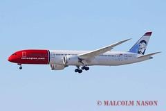 B787-9 EI-LNI NORWEGIAN LONG HAUL (shanairpic) Tags: irish losangeles norwegian lax b787 jetairliner dreamliner boeing787 eilni