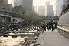 Cheonggyecheon (Brian Aslak) Tags: park city urban creek river asia stream korea seoul southkorea   cheonggyecheon  jongnogu