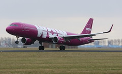 WOW Air Airbus A321WL (AMSfreak17) Tags: world holland netherlands dutch amsterdam canon wow de airplane airport aircraft air airplanes nederland off planes airbus danny take schiphol runway ams vliegtuig the eham a321 planespotting luchthaven spotter vliegtuigen 70d luchtvaart polderbaan of 36l soet tfmom amsfreak17 a321wl