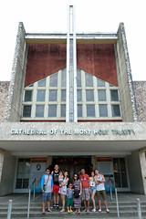 Cathedral of the Most Holy Trinity (vjvluna) Tags: family fujifilm bicol familyouting daet camarinesnorte xpro2 summer2016 sanvicentemananapresort fujifilmxf1655mmf28r sanvicentemananapriver