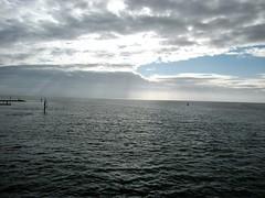 Studland Ferry Sunrise (Dave C1) Tags: ferry sunrise chain dorset sandbanks studland
