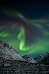 Aurora, Northern Norway (Thomas Koehler) Tags: norway night landscape norge nikon nightshot norwegen fjord northern d3 auroraborealis arcticcircle troms troms polarlicht northernlight tromsdalen polarkreis flyke northernnorway polarlight polarlichter landschatf thomaskoehler