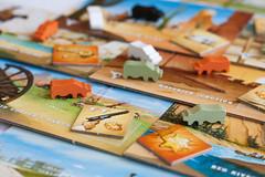 Cattle Rustlin' (derekbruff) Tags: game cattle cows longhorn gamenight boardgame tabletop oldwest rustling