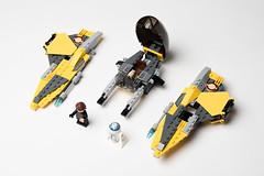 Lego_starwars_5618 (kyl080) Tags: star starwars mod lego space r2d2 anakin wars skywalker moc starfighter 7256 7669