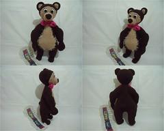 MASA VE KOCA AYI-rgantam hatice yazc (1) (rgantam) Tags: handmade amigurumi masha bigbear oyuncaklar rgoyuncaklar kocaay masaelemei