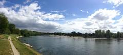 ticino (2darkwings) Tags: sky water clouds river ticino fiume paesaggi pp pavia