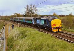 The Each Express at Brantham (Chris Baines) Tags: express railtour each drs 37405 37419 brantham