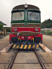 Treno Storico Valsesia (beppeverge) Tags: treno binari rotaie valsesia locomotiva borgosesia stazioneferroviaria ferroviastorica beppeverge