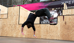 2016_April_freerun1-1196 (jonhaywooduk) Tags: urban sports netherlands amsterdam jump kick air spin platform teenagers free twist running runners athletes flick mid parkour