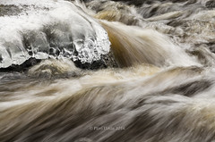 Stream II (grus_p) Tags: light ice nature water finland river march spring nikon stream