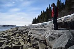 DSC_0151 (frederic.larochelle) Tags: snow canada ice water rock america forest river la grande melting quebec north rivire neige fonte glace boreal taga lg1