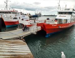 Roll On Roll Off (jimjiraffe) Tags: ferry fuji transport auckland wharf waiheke waihekeisland portsofauckland xs1 wynyardquarter jimjiraffe fujifilmxs1