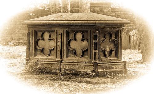 St Wulfram's Graveyard