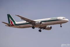 Alitalia --- Airbus A321 --- EI-IXZ (Drinu C) Tags: plane aircraft aviation sony airbus dsc alitalia mla a321 lmml eiixz hx100v adrianciliaphotography
