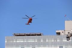 Ornge (jmaxtours) Tags: orange toronto ontario hospital helicopter ornge stmikes torontoontario airambulance stmichaelshospital orngehelicopter