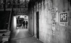 Paris, Jaurs, 8 (Patrick.Raymond (2M views)) Tags: street bw paris nikon tmax pcf 75018 nuit argentique jaures expressyourself