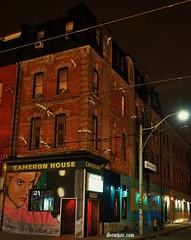CAMERON HOUSE (Senifalu) Tags: sunset toronto building downtown ants cameronhouse