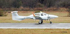 G-DGPS DA42 TWIN STAR (douglasbuick) Tags: plane star scotland airport nikon edinburgh flickr aircraft aviation twin diamond egph d40 da42 gdgps