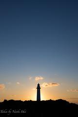 lighthouse (Naoki Natsume/Ishii ,  ,) Tags: japan sunrise pentax event human  shizuoka izu happynewyear shimoda k3        pentaxk3  naokiishii k ishiinaoki  ginarainbow